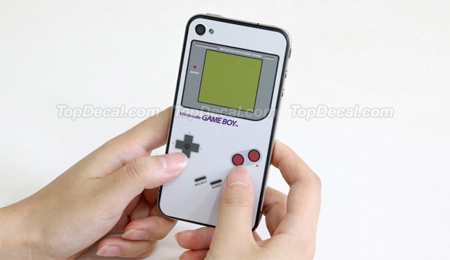 Nintendo Game Boy iPhone Sticker