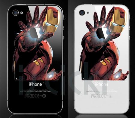 Iron Man iPhone Sticker