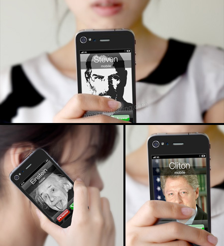 Fake Call iPhone Stickers