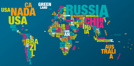 Geography Meets Typography