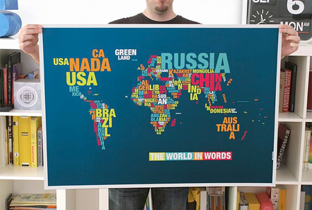 Typographic Map