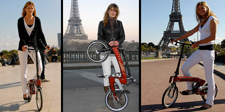 Folding Bicycle Without a Seat