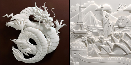 Incredible 3D Art Made of Paper