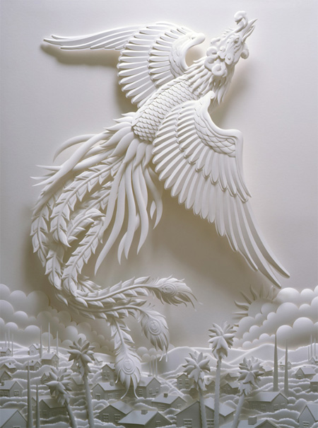 Sculpture Made of Paper