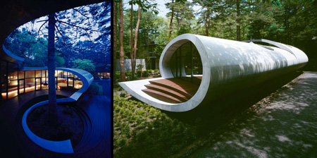 Shell House in Japan