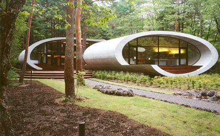 Modern Shell House