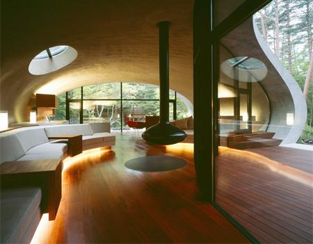 Shell House Interior