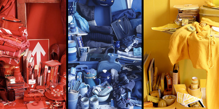 Possessions Arranged by Color