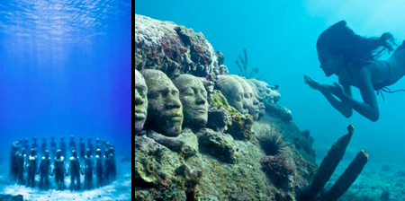 Amazing Underwater Sculptures