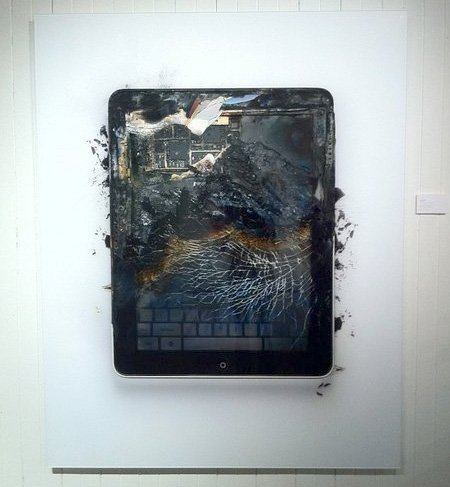 Destroyed iPad