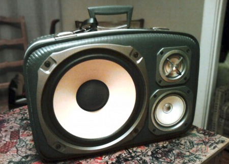 Briefcase Speakers