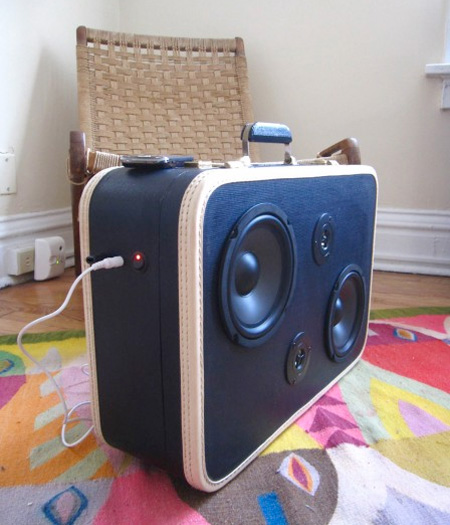 Briefcase Boombox
