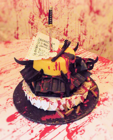 Kill Bill Cake
