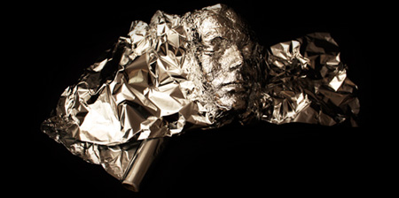 Tin Foil Portrait