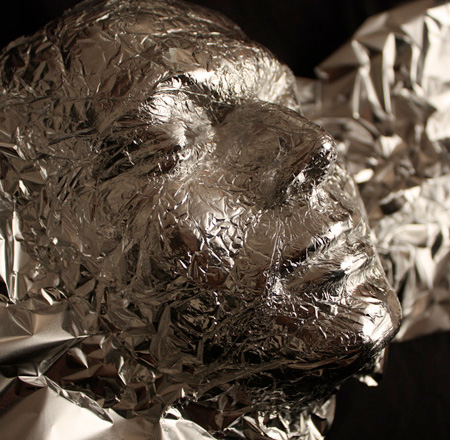 Tin Foil Sculpture