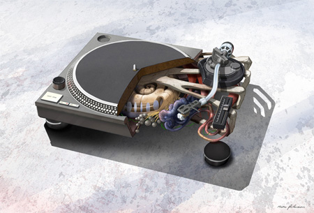 Turntable Anatomy