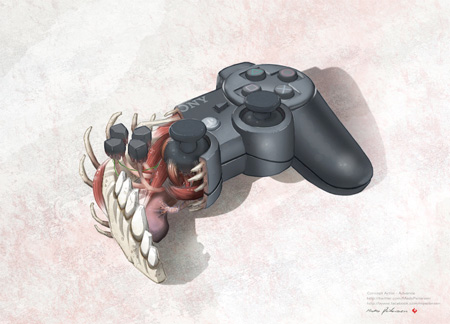 Playstation 3 Controller Anatomy