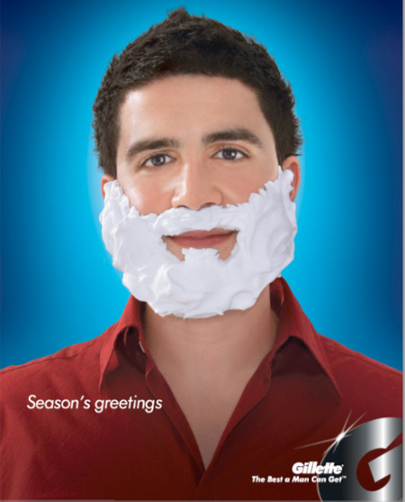 Gillette Christmas Advertisement