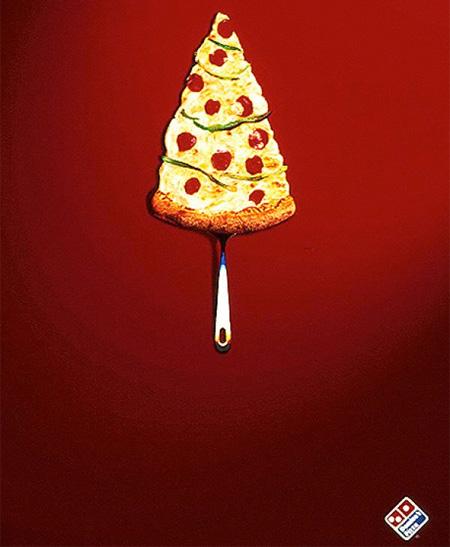 Dominos Christmas Tree