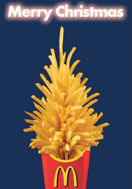 McDonalds Christmas Tree