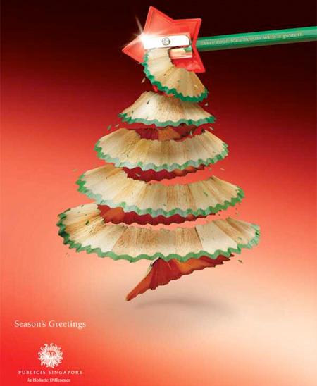 Publicis Singapore Christmas Tree