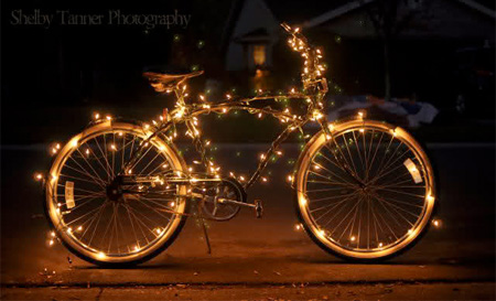 Unusual christmas decorations for Decoration jardin velo