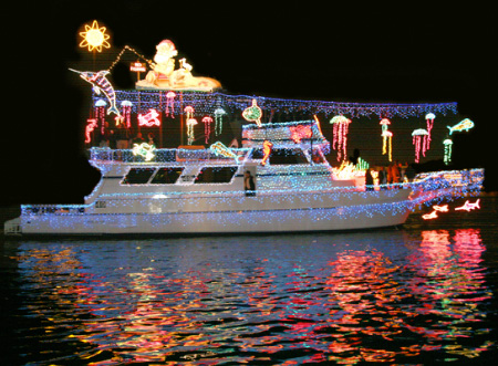 Unusual christmas decorations for Decoration yacht
