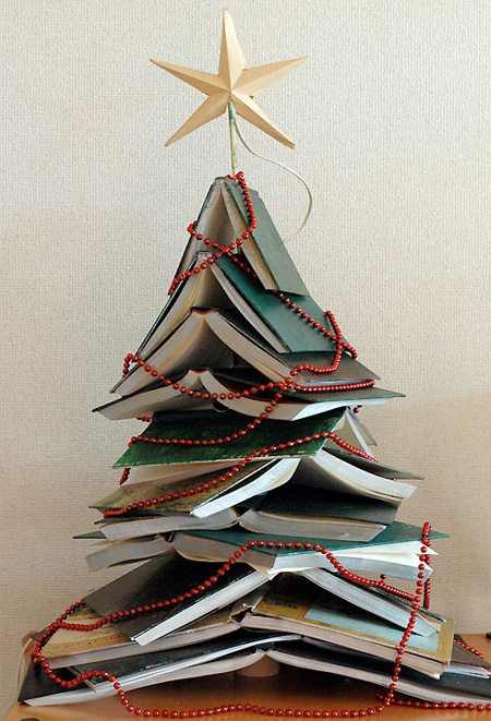 hardcover christmas tree - Unique Christmas Decorations