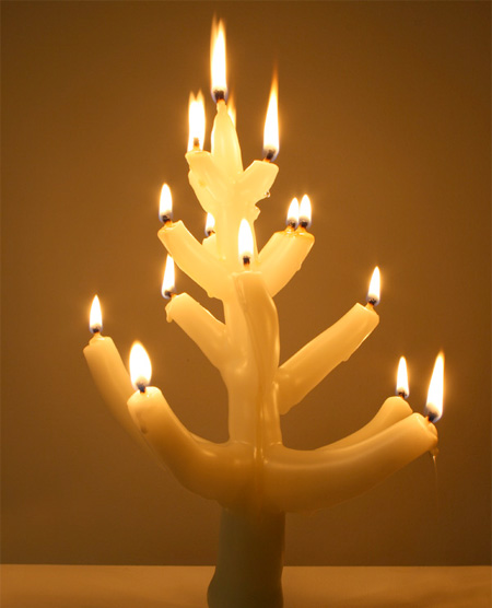 Candle Christmas Tree