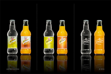 Schweppes Packaging