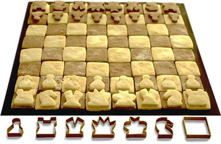 Chess Set Cookie Cutters