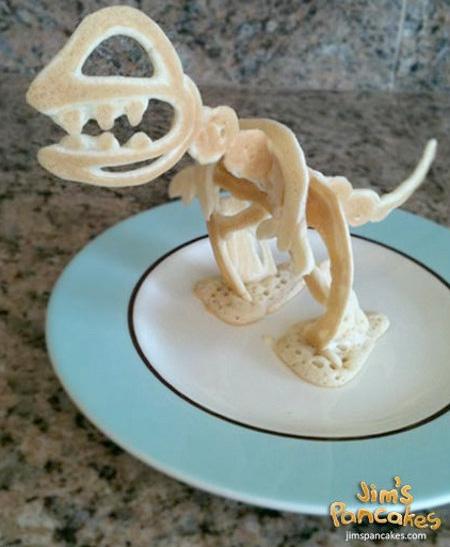 Dinosaur Pancake