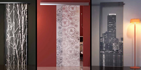 Unique and Stylish Glass Doors
