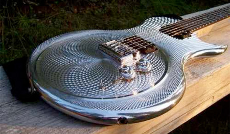 Chrome Guitar