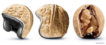 Walnut Helmet