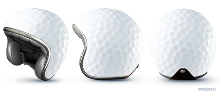 Golf Ball Helmet