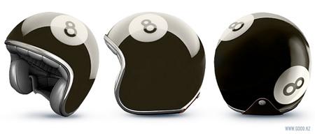 Billiard Ball Helmet