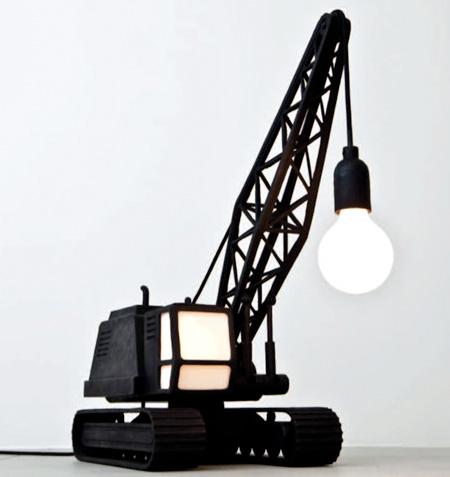 Wrecking Ball Lamp