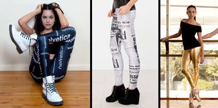 Stylish and Creative Leggings
