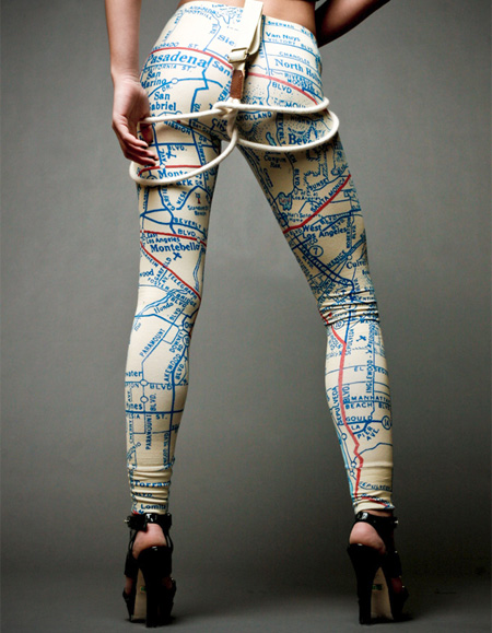 Map Leggings