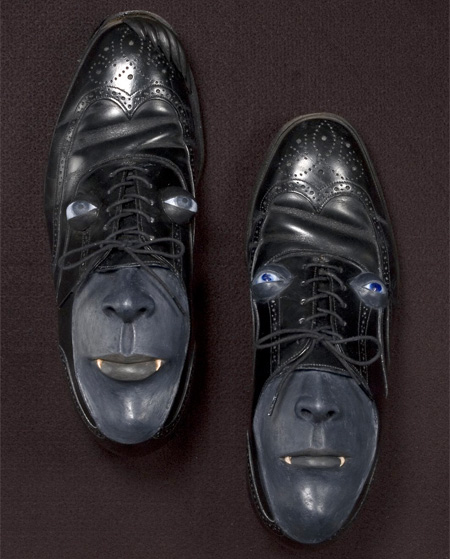 Shoe with a Face