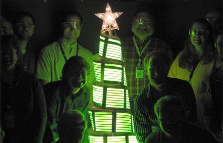OLED Christmas Tree