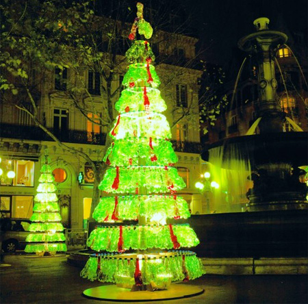 Plastic Bottles Christmas Tree