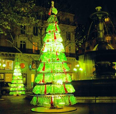 Plastic Bottles Christmas Tree