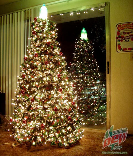 Mountain Dew Christmas Tree