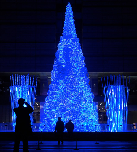 Fiber Optic Christmas Tree