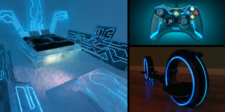 TRON Inspired Products and Designs