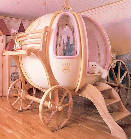 Cinderella Pumpkin Carriage Bed