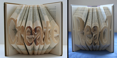 Books Transformed Into Art
