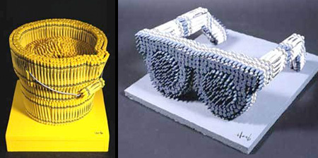 3D Sculptures Made of Crayons